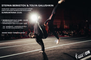 Stepan Tolya workshop
